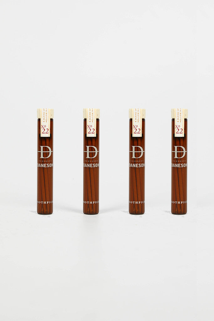 Daneson Whiskey Toothpicks Set of 4