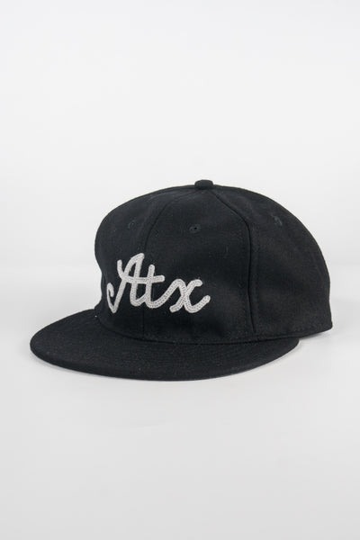 Ebbets Field ATX Austin Hat Black