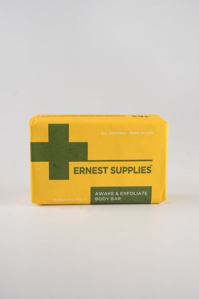 Ernest Supplies Awake Exfoliate Bar