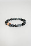 Friday River Midnight Round Stone Bracelet