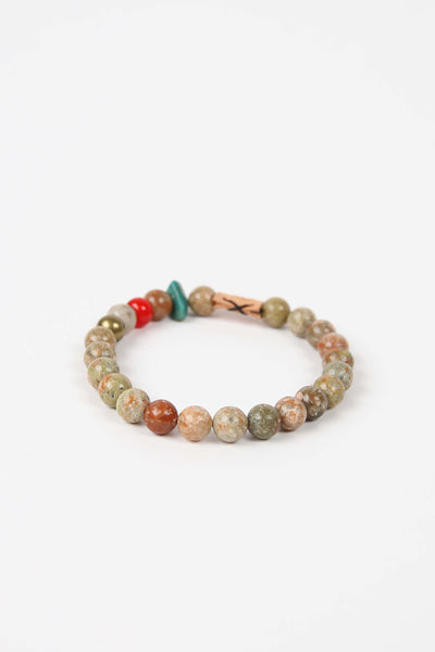 Friday and River Shores Bracelet Sand Brown