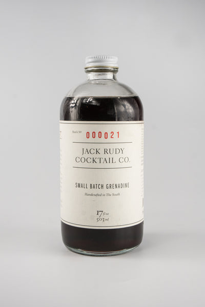 Jack Rudy Cocktail Small Batch Grenadine