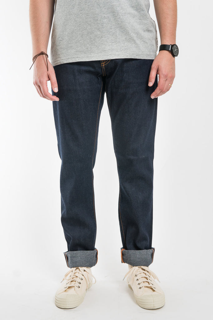 Jean Shop Mick Selvedge Rinse