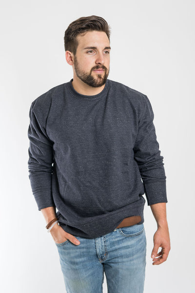 Jungmaven Black Speckle Crewneck Sweatshirt