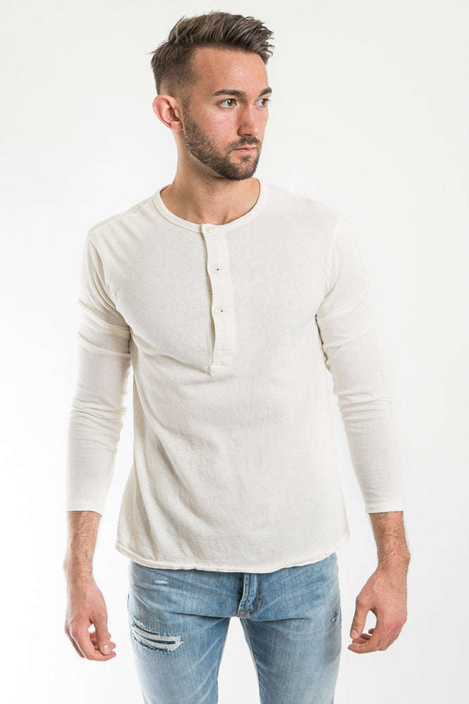 Knickerbocker MFG White Henley