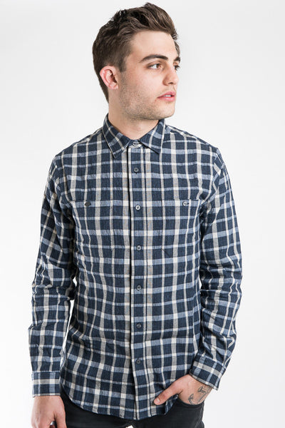 Krammer Stoudt Grey Plaid Gregory Shirt