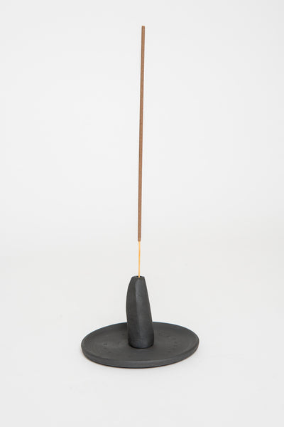 MAAPS Black Ceramic Incense Holder