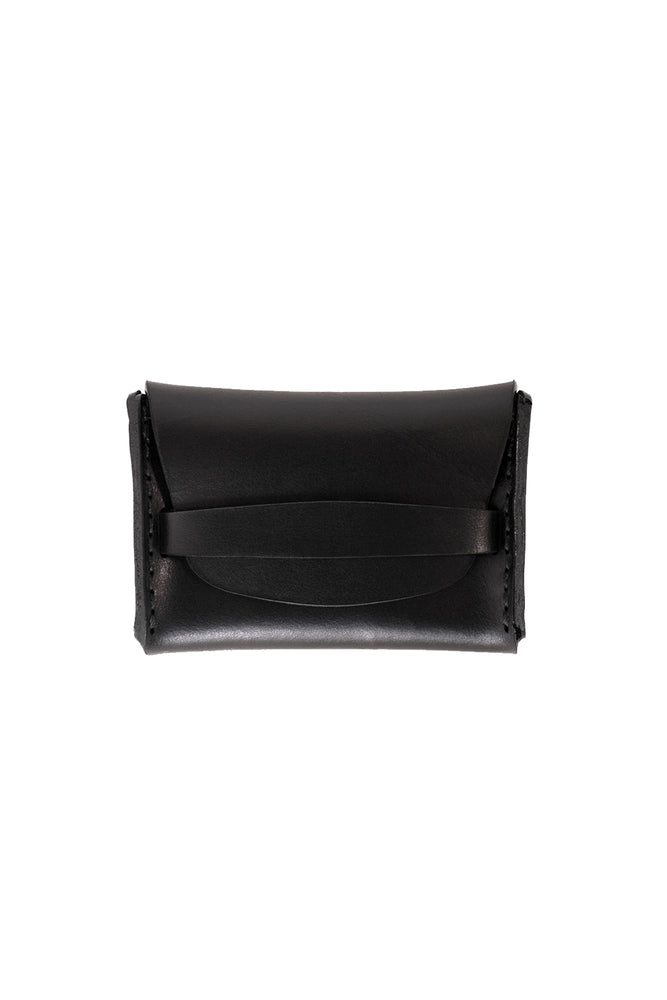 Flap Wallet - Black