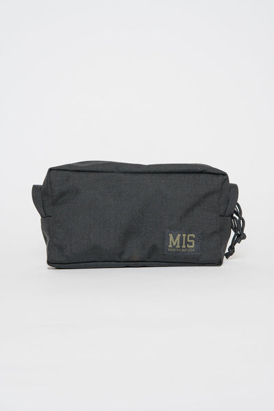 MIS Black Large Mesh Dopp Kit