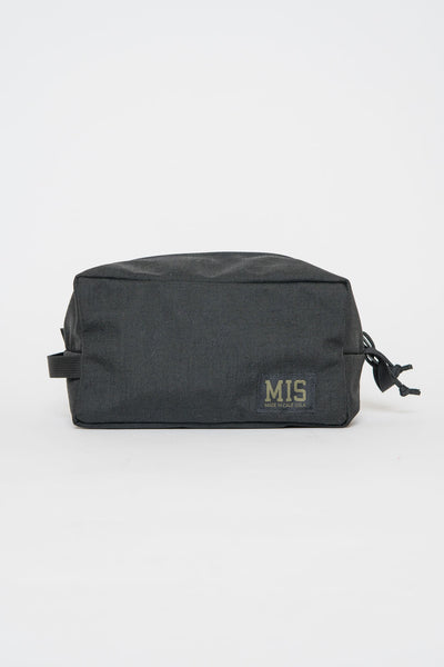 MIS Black Slim Dopp Kit