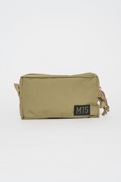 MIS Coyote Tan Slim Dopp Kit