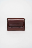 Makr Oxblood Flap Wallet