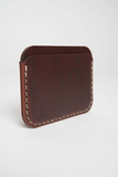 Makr Oxblood Round Wallet