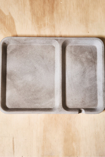 Concrete Rectangle Valet Tray