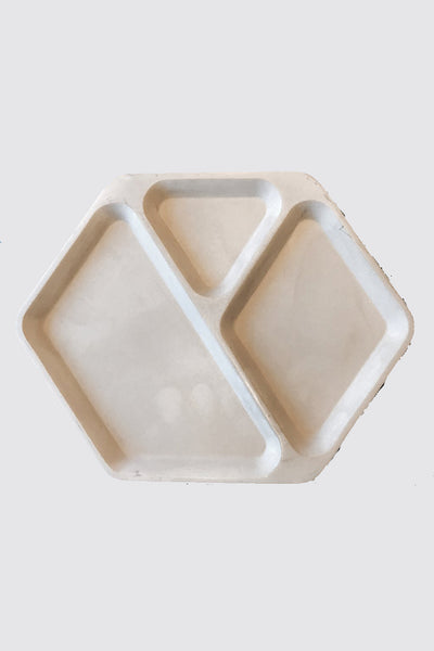 Maxx & Unicorn Concrete Hex Tray