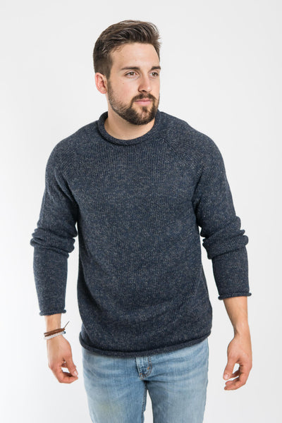 Mollusk Blue Stone Fisherman Sweater