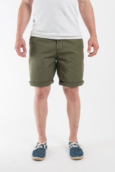 Mollusk Mash Green Walk Shorts