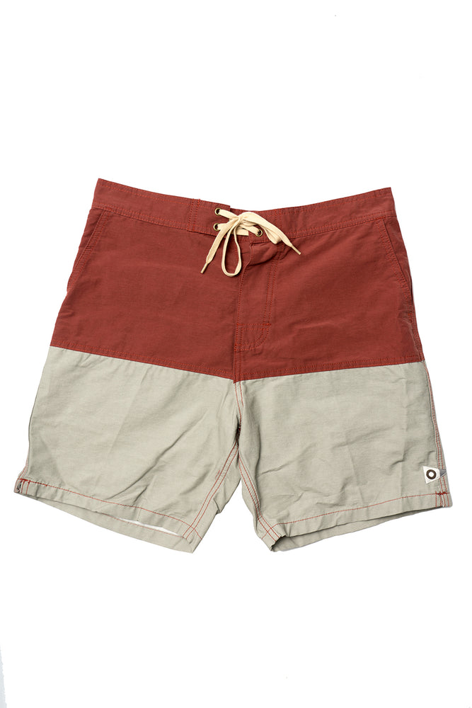 Ojai Trunks - Brick/Cloud Grey