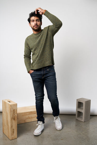 Mollusk Caimbridge Sweater Sherwood Green