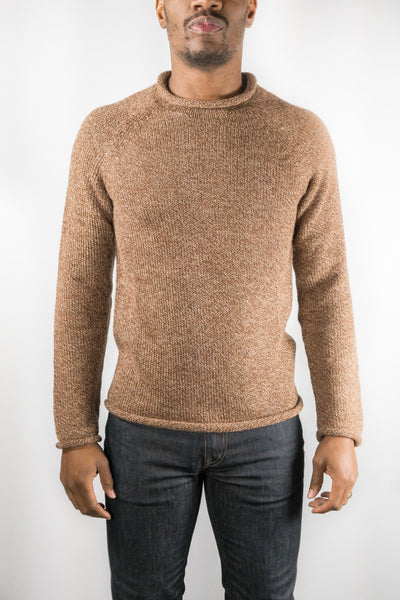 Mollusk Tobacco Fisherman Sweater