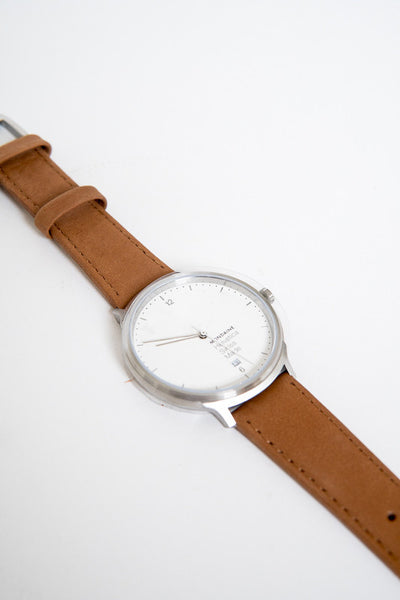 Mondaine Helvetica No 1 Light Tan Watch