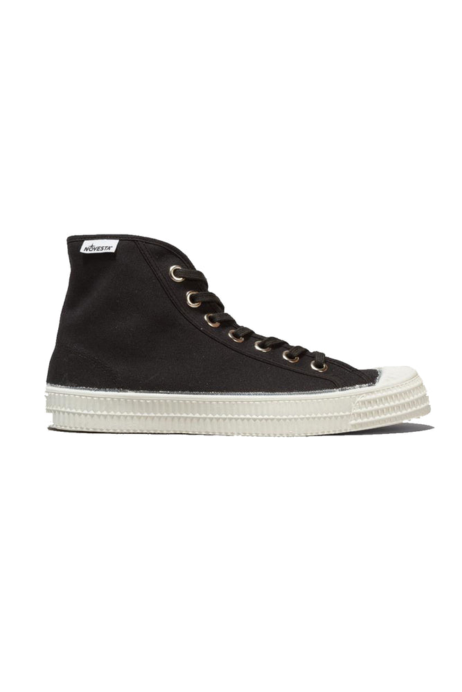 Star Dribble Canvas Hi-Top - Black