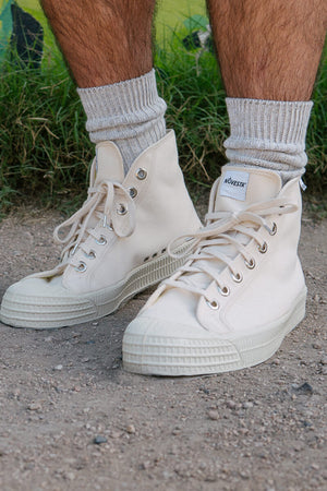 Novesta Star Dribble Canvas Hi Top Shoes