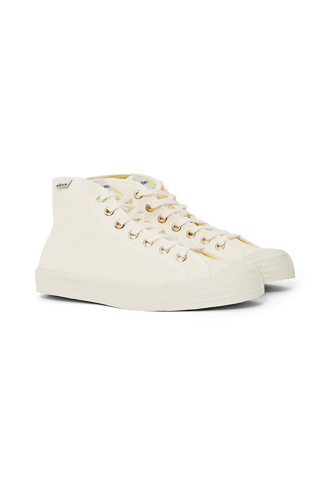 Novesta Star Dribble Off White Canvas Sneakers