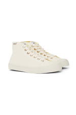 Star Dribble Canvas Hi- Top - Off White