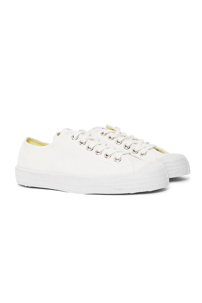 Star Master Canvas Low-Top - White
