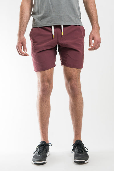 Oliver's Apparel All Over Short - Crimson
