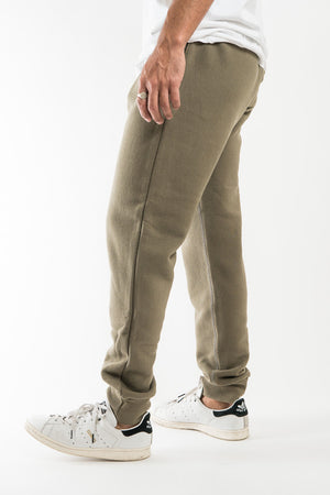 Outclass Olive French Terry Sweatpants