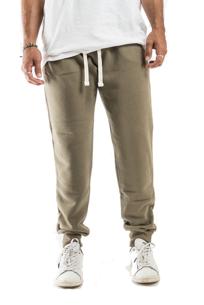 French Terry Sweatpants - Olive