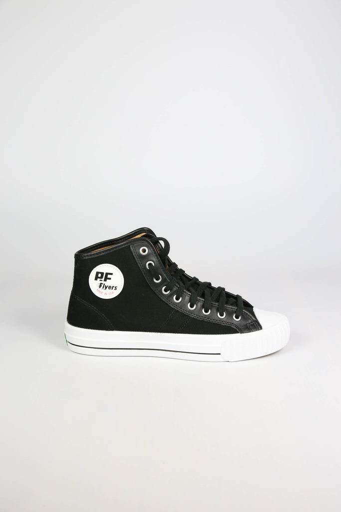 Made in USA PF Flyers Black Sneakers