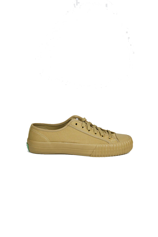 Center Low Top - Tan
