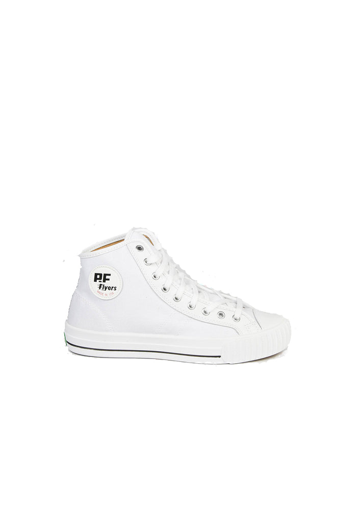 Made In USA - Center Hi - White