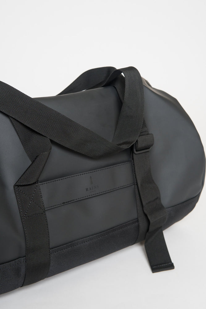 Rains Black Duffel Bag