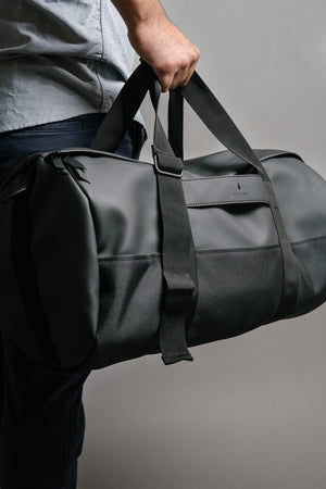 Rains Black Duffel