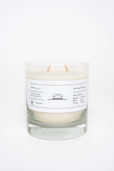 Ranger Station Leather and Pine Candle