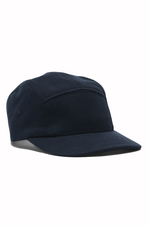 5 Panel Cap - Mid Weight Terry - Navy