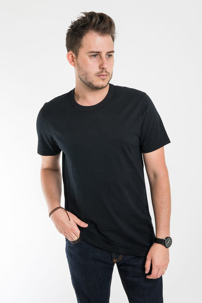 Reigning Champ Black Set In Tee