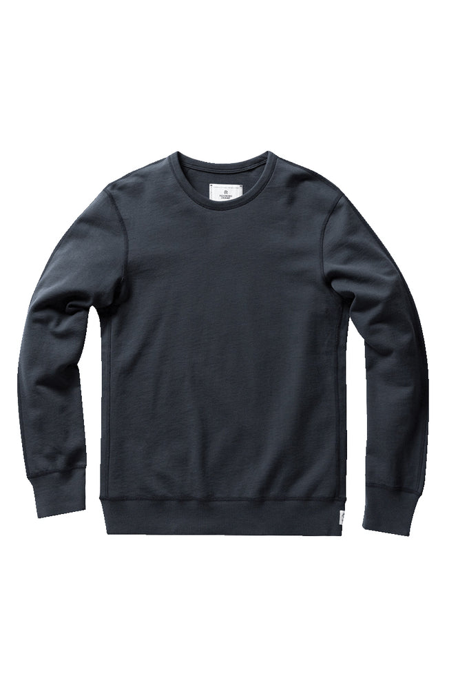 Lightweight Terry Crewneck - Steel