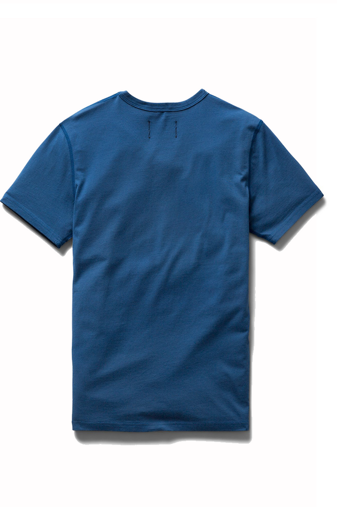 Reigning Champ Ringspun Jersey Tee Court Blue