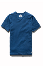 Ringspun Tee - Court Blue