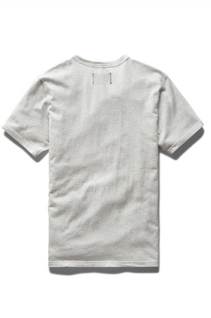 Reigning Champ Ringspun Jersey Tee Heather Ash