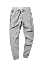 Slim Sweatpant -Midweight Terry- Heather Grey