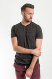 Richer Poorer Charcoal Pocket Tee