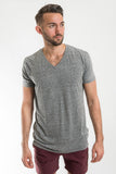 Richer Poorer Heather Grey V Neck