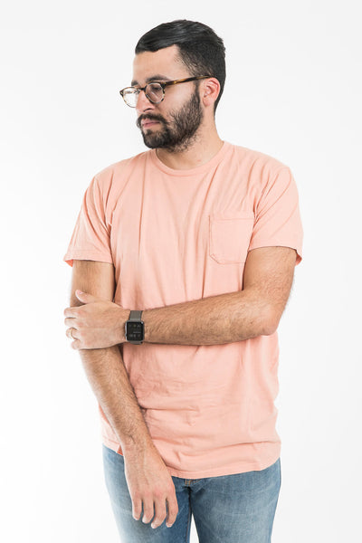 Richer Poorer Pink Pocket Tee Shirt