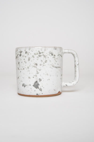 Settle Ceramics White Black Speckle Cappuccino Mug